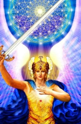 Arcangel-Miguel-con-espada-y-flor-de-la-vida-265x4051